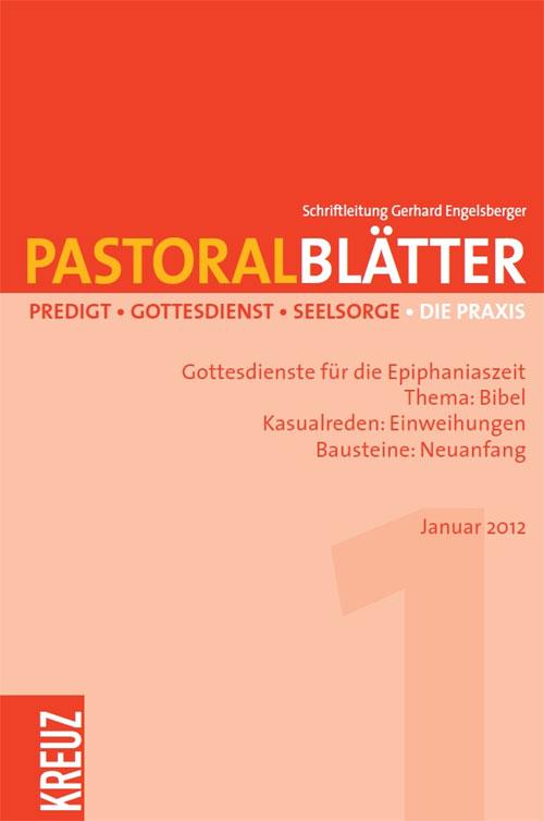 Pastoralblätter 1/2012