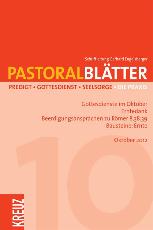 Pastoralblätter 10/2012