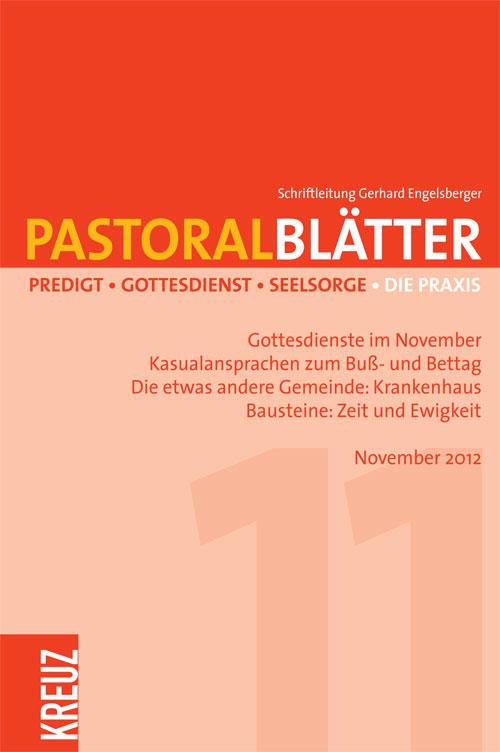Pastoralblätter 11/2012