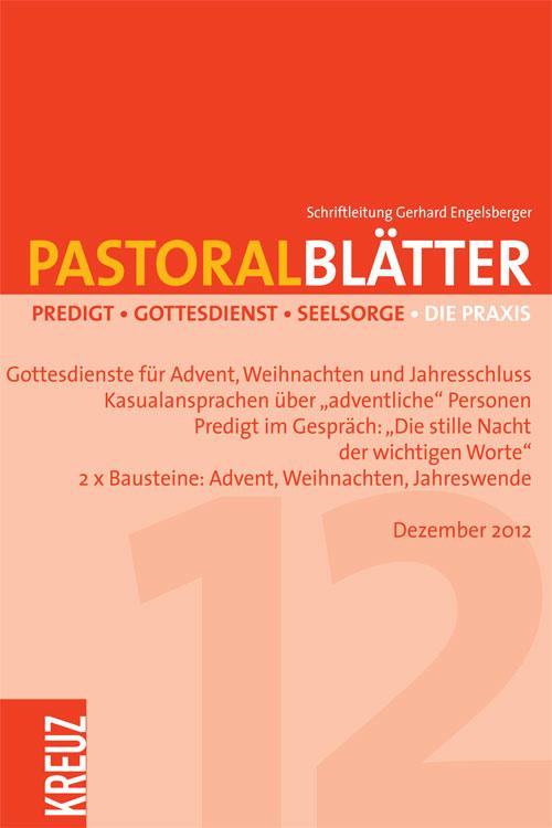 Pastoralblätter 12/2012