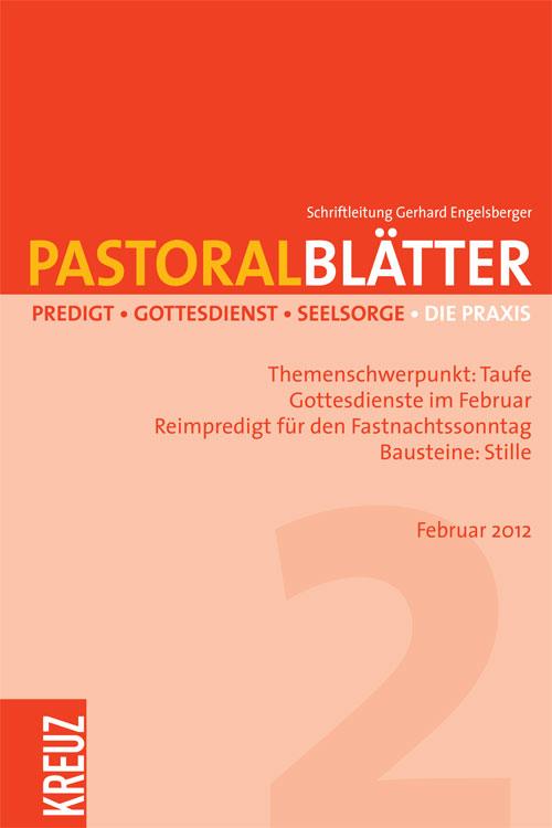 Pastoralblätter 2/2012