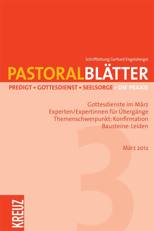 Pastoralblätter 3/2012