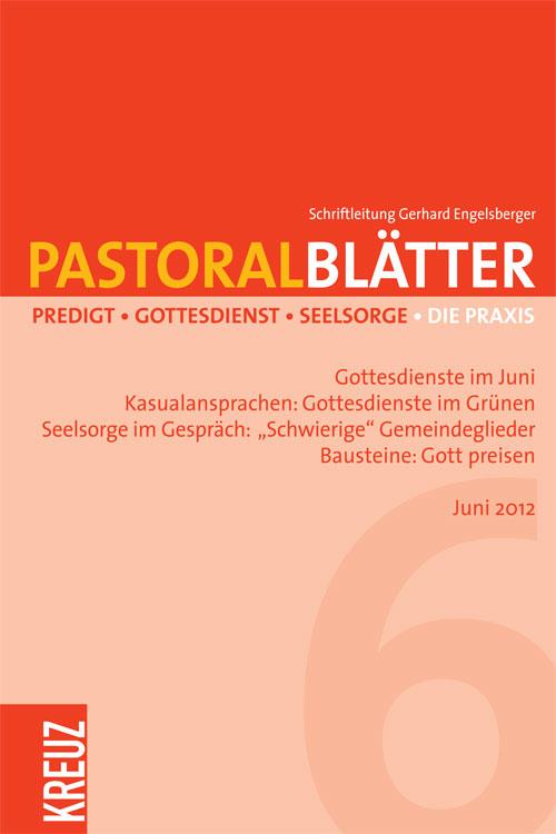 Pastoralblätter 6/2012