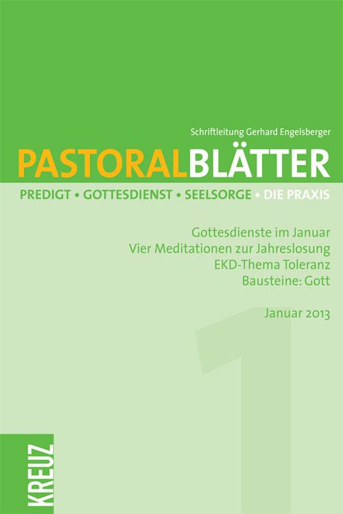 Pastoralblätter 1/2013