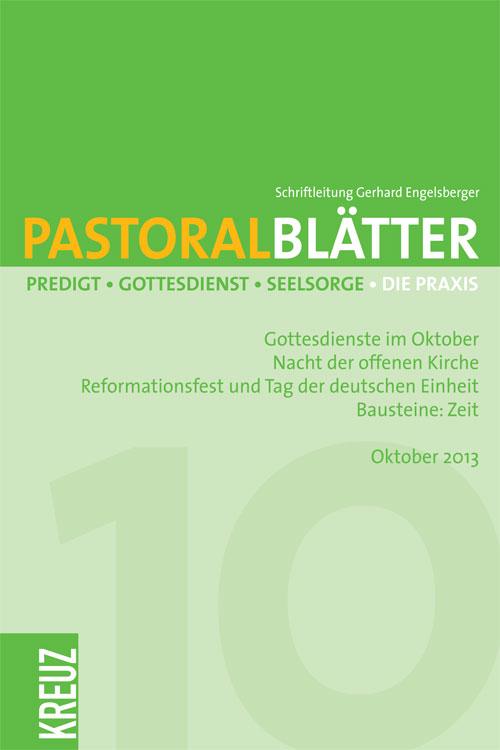 Pastoralblätter 10/2013
