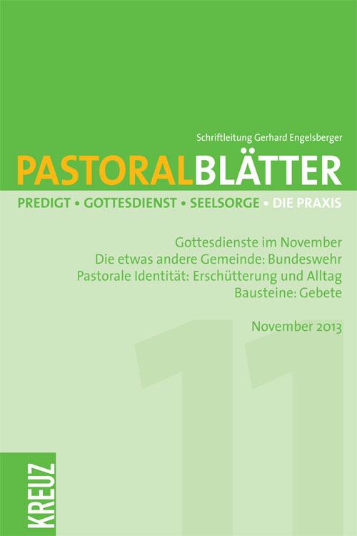 Pastoralblätter 11/2013