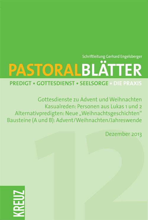 Pastoralblätter 12/2013