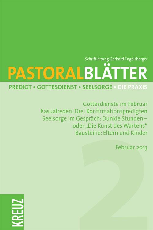 Pastoralblätter 2/2013