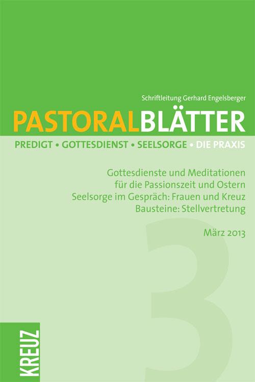 Pastoralblätter 3/2013