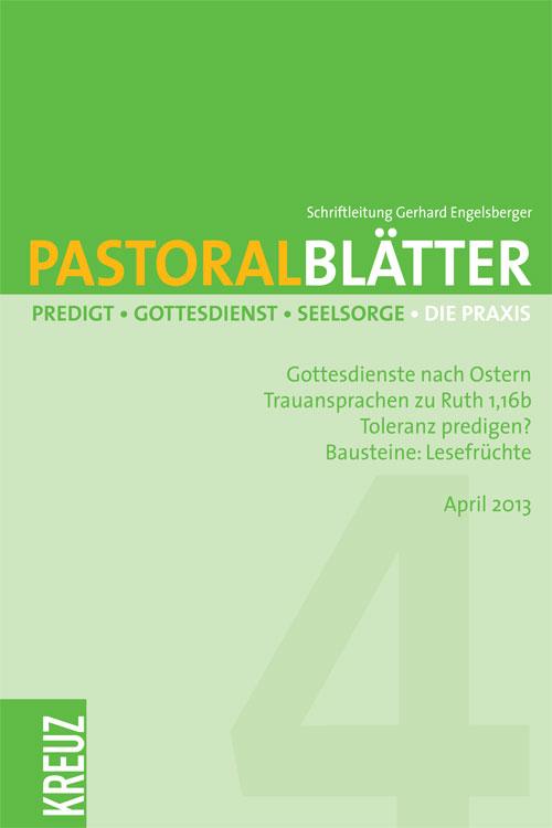 Pastoralblätter 4/2013