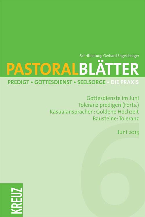 Pastoralblätter 6/2013