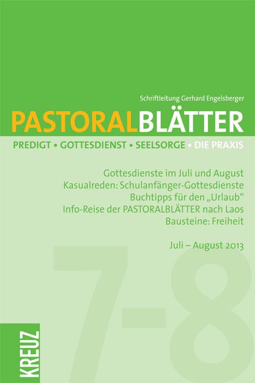 Pastoralblätter 7-8/2013