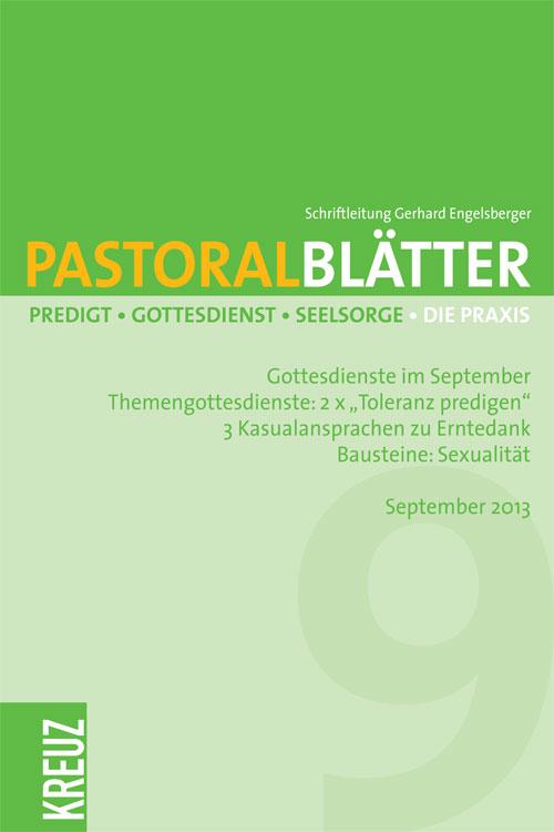 Pastoralblätter 9/2013