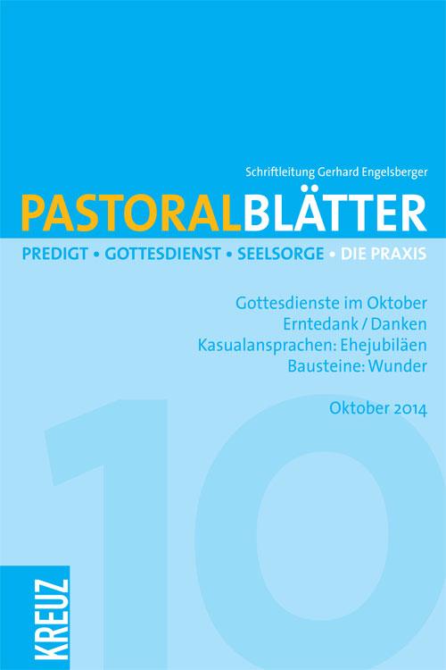 Pastoralblätter 10/2014