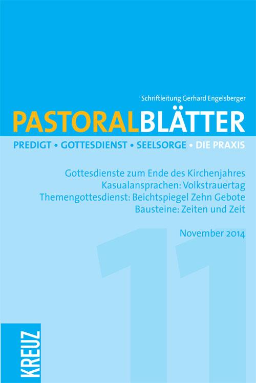 Pastoralblätter 11/2014