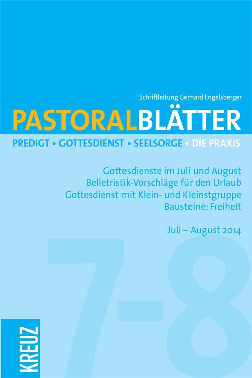 Pastoralblätter 7-8/2014