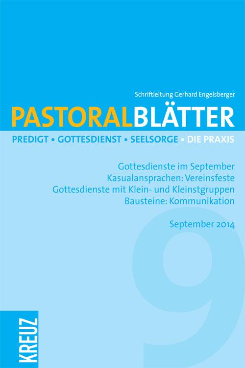 Pastoralblätter 9/2014
