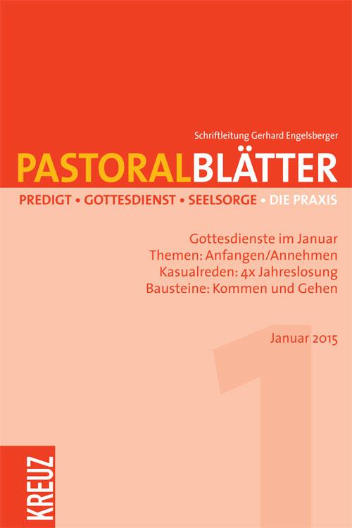 Pastoralblätter 1/2015