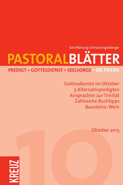 Pastoralblätter 10/2015