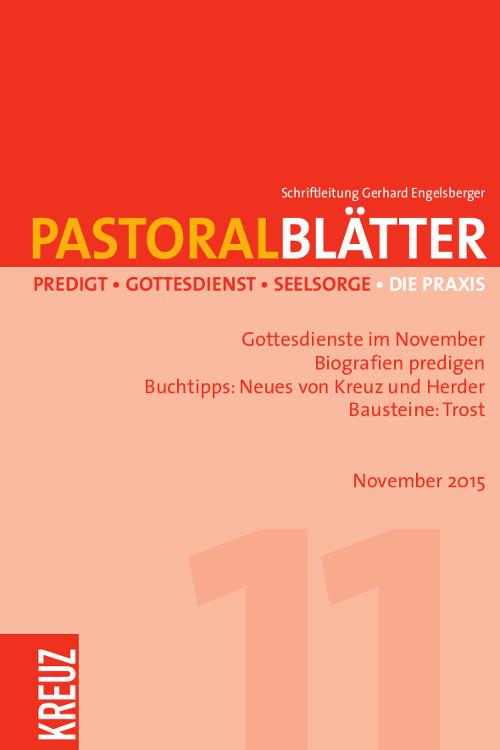 Pastoralblätter 11/2015