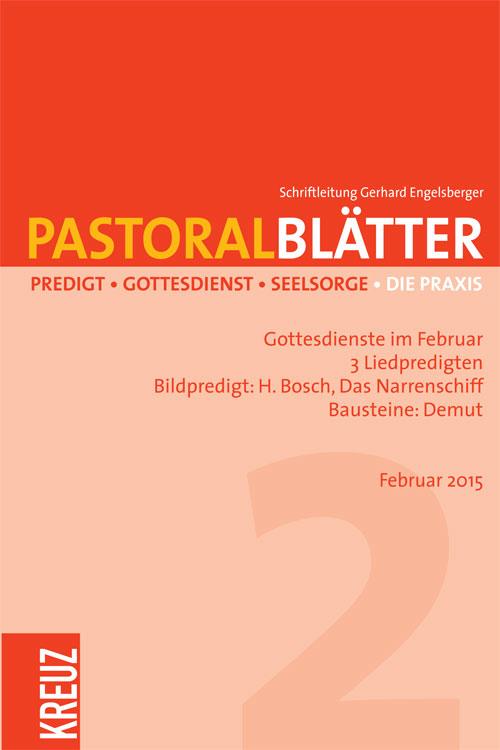 Pastoralblätter 2/2015