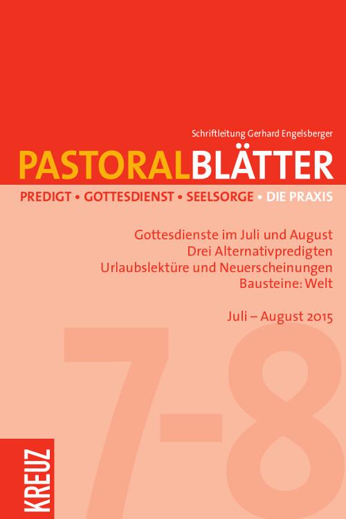 Pastoralblätter 7-8/2015