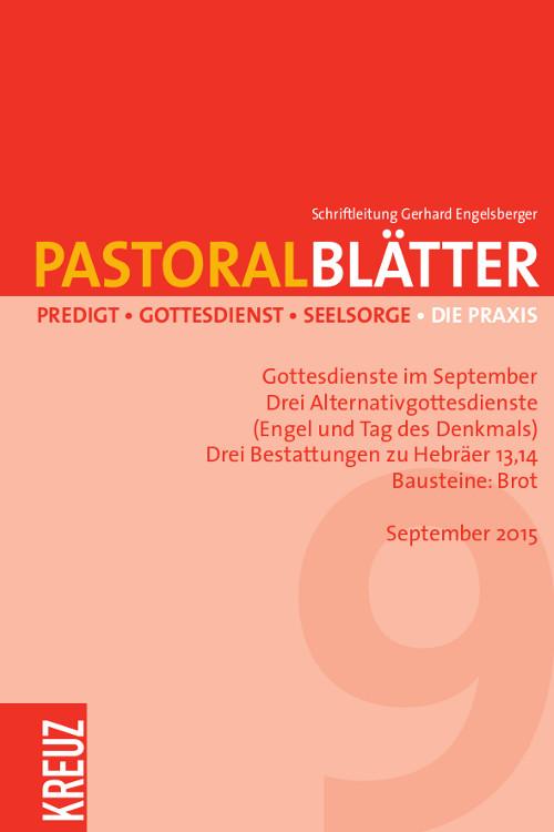 Pastoralblätter 9/2015