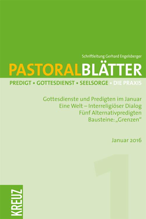 Pastoralblätter 1/2016