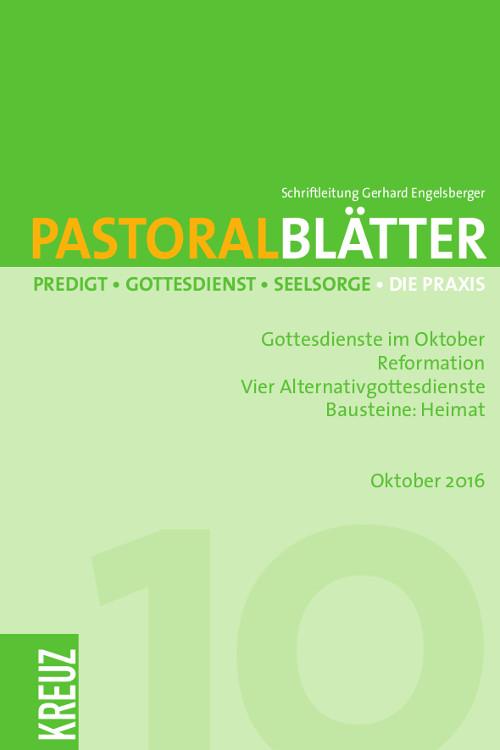 Pastoralblätter 10/2016