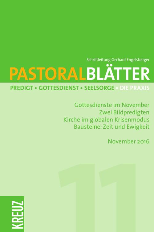 Pastoralblätter 11/2016