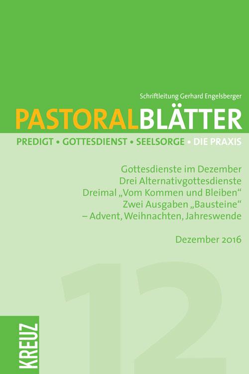 Pastoralblätter 12/2016
