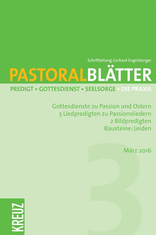 Pastoralblätter 3/2016
