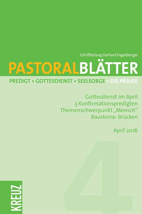 Pastoralblätter 4/2016