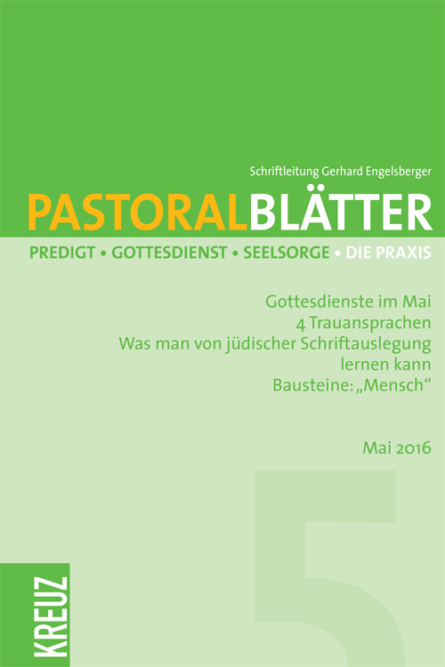 Pastoralblätter 5/2016