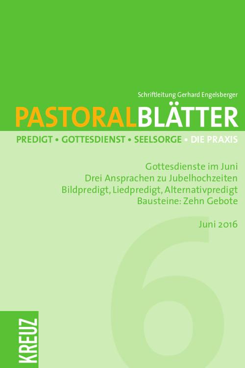 Pastoralblätter 6/2016