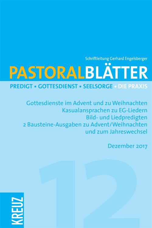 Pastoralblätter 12/2017