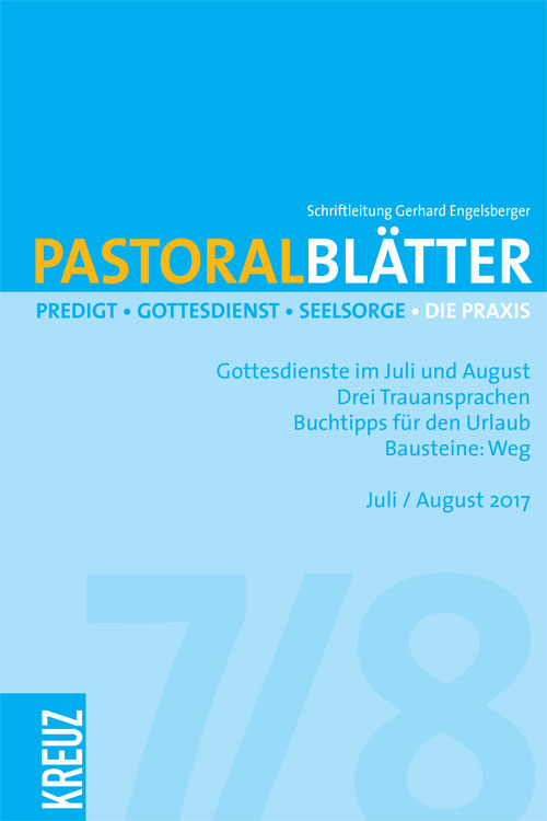 Pastoralblätter 7-8/2017