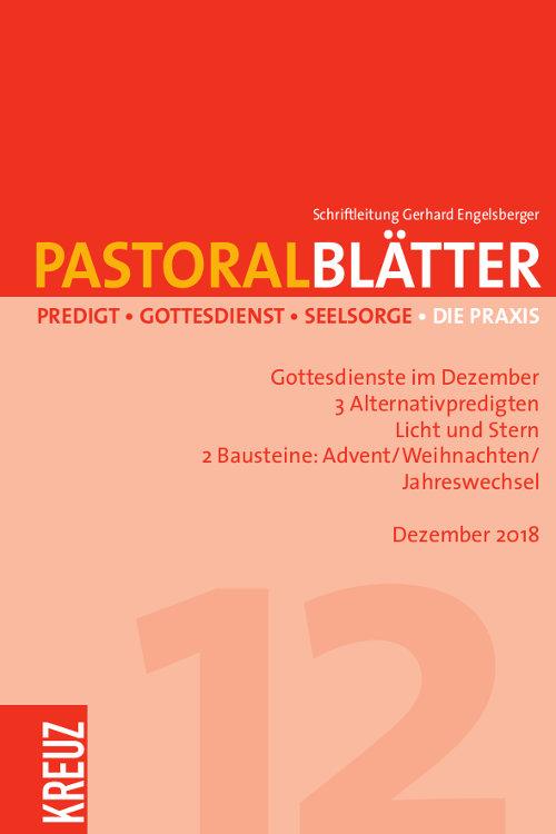 Pastoralblätter 12/2018