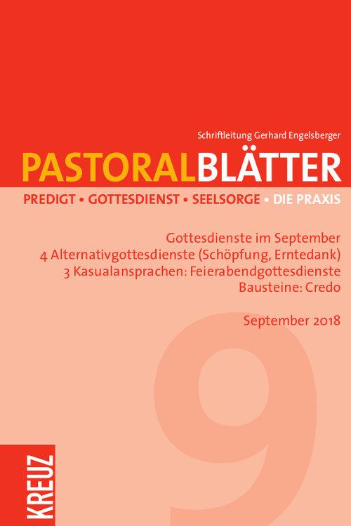 Pastoralblätter 9/2018