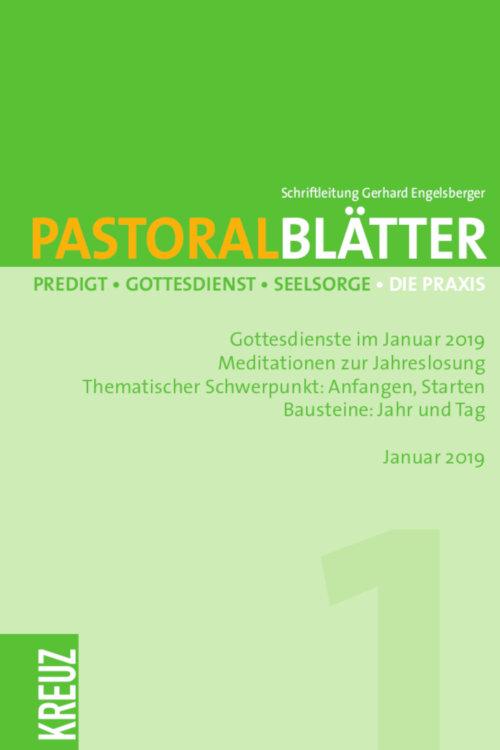 Pastoralblätter 1/2019