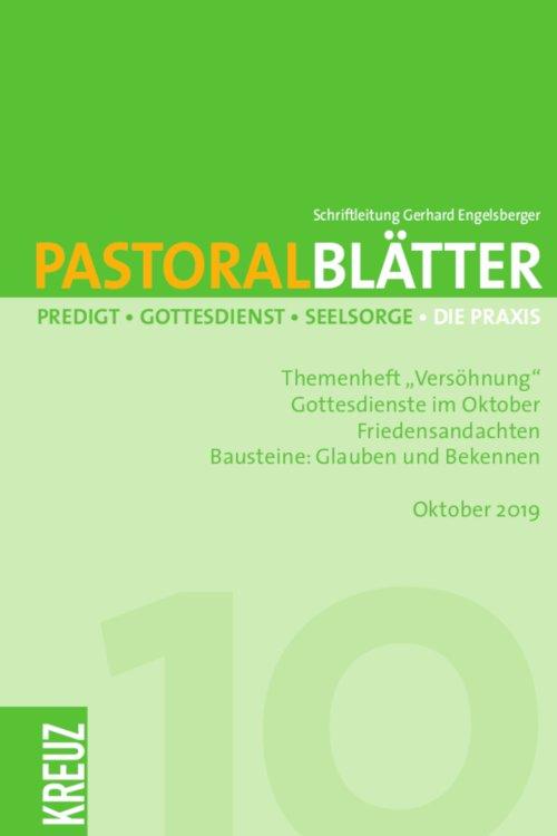 Pastoralblätter 10/2019
