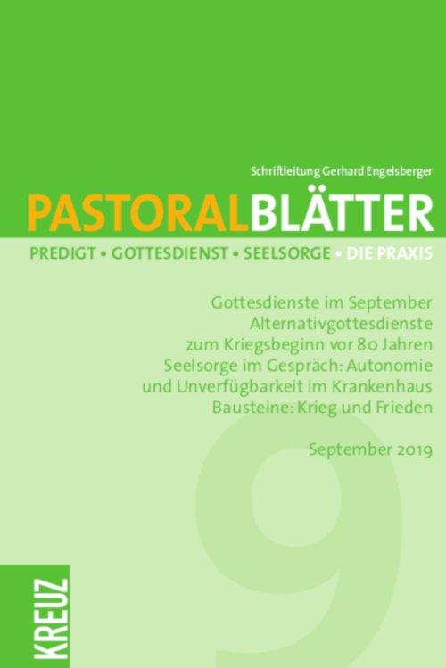 Pastoralblätter 9/2019