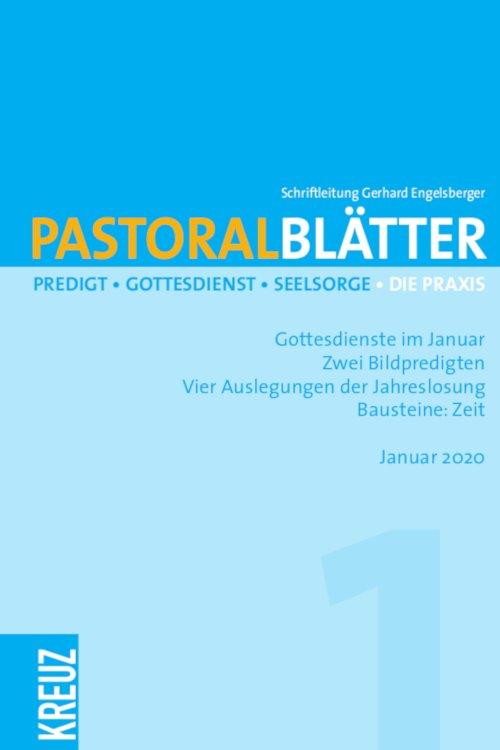 Pastoralblätter 1/2020
