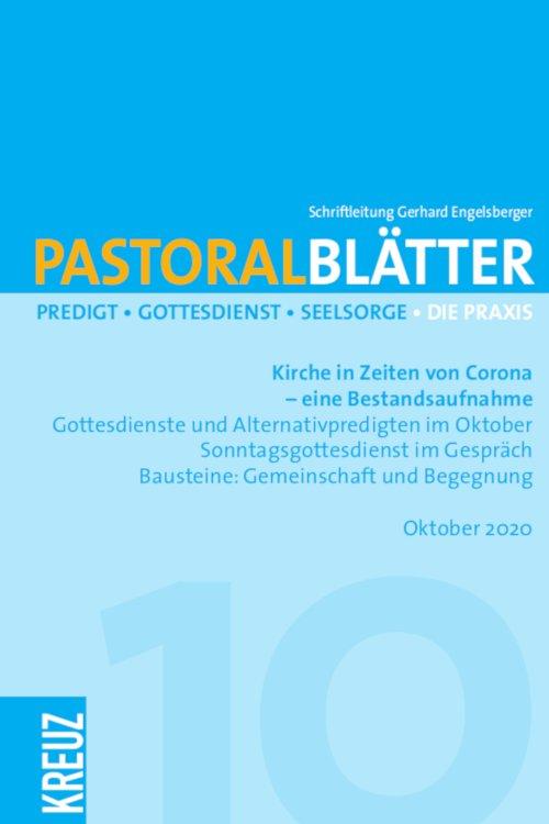 Pastoralblätter 10/2020