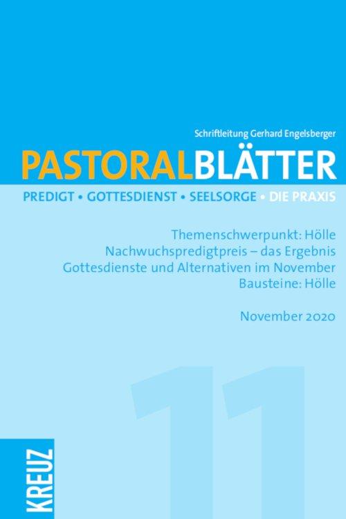 Pastoralblätter 11/2020