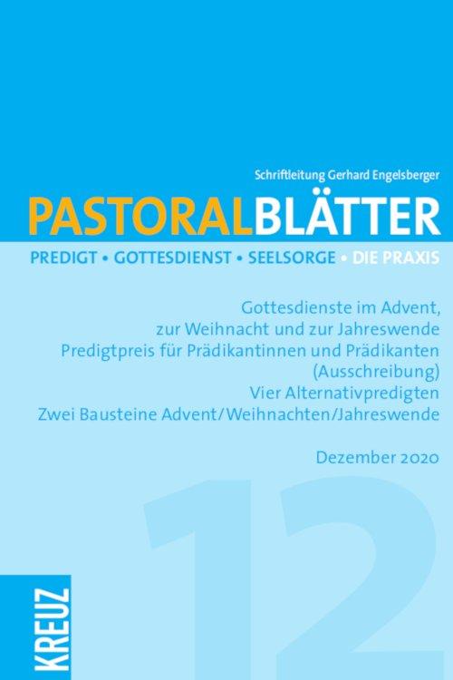 Pastoralblätter 12/2020