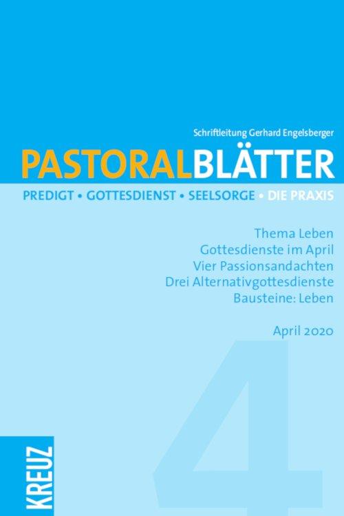 Pastoralblätter 4/2020