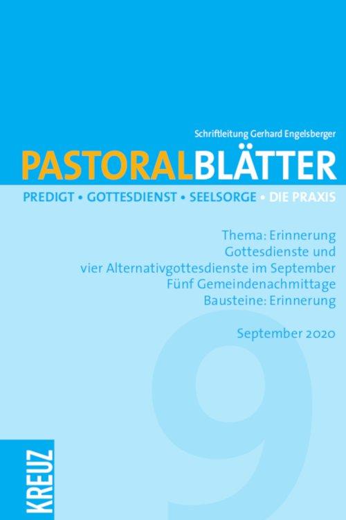 Pastoralblätter 9/2020