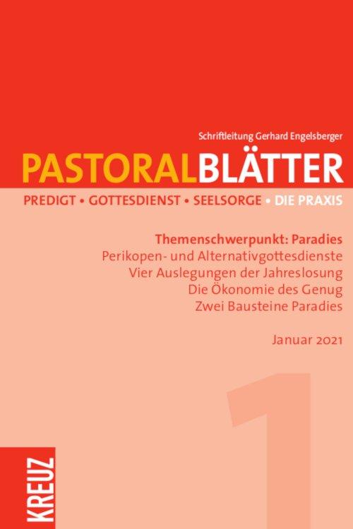 Pastoralblätter 1/2021