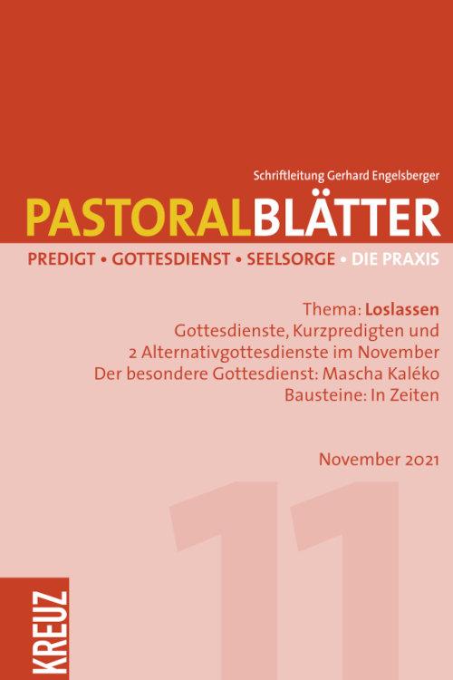 Pastoralblätter 11/2021